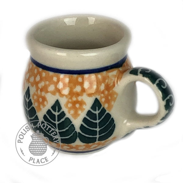 Miniature Bubble Mug - Polish Pottery