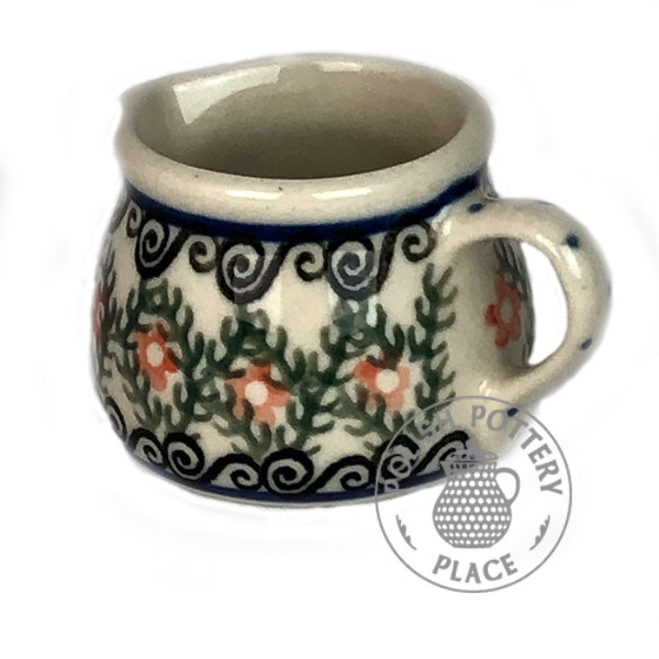 Miniature Milk Pitcher - Polish Pottery