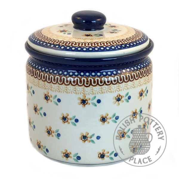 Wide Canister - Polish Pottery