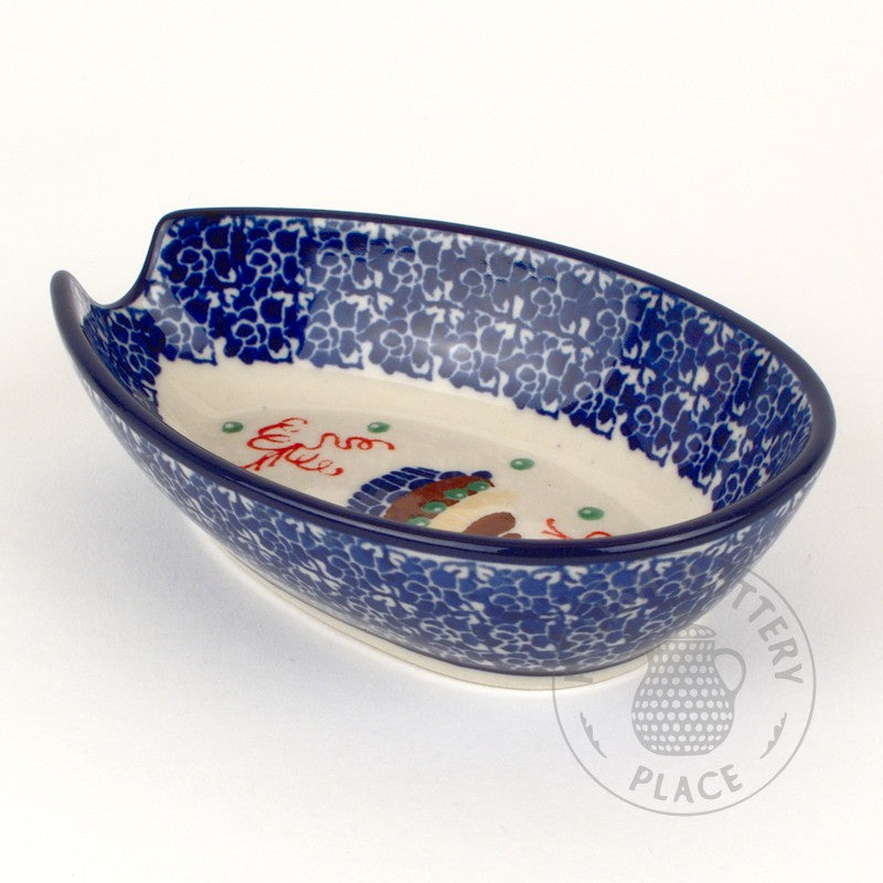 Spoon Rest - Polish Pottery