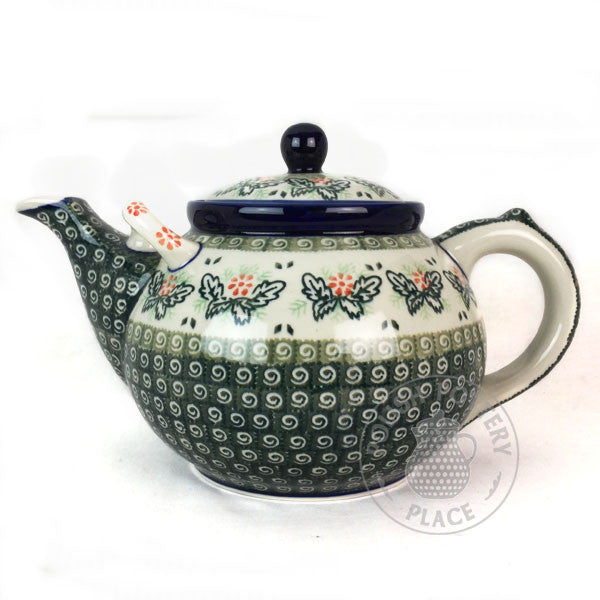 3 Quart Teapot - Polish Pottery