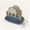 Large Napkin Holder - Polish Pottery