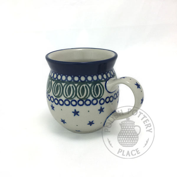 Small Bubble Mug - Polish Pottery