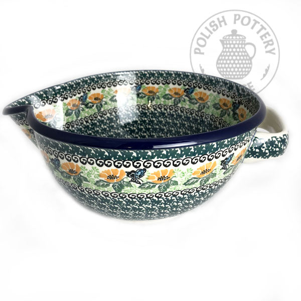 Large Mixing Bowl - Polish Pottery