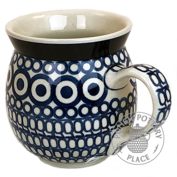 Large Bubble Mug - Polish Pottery