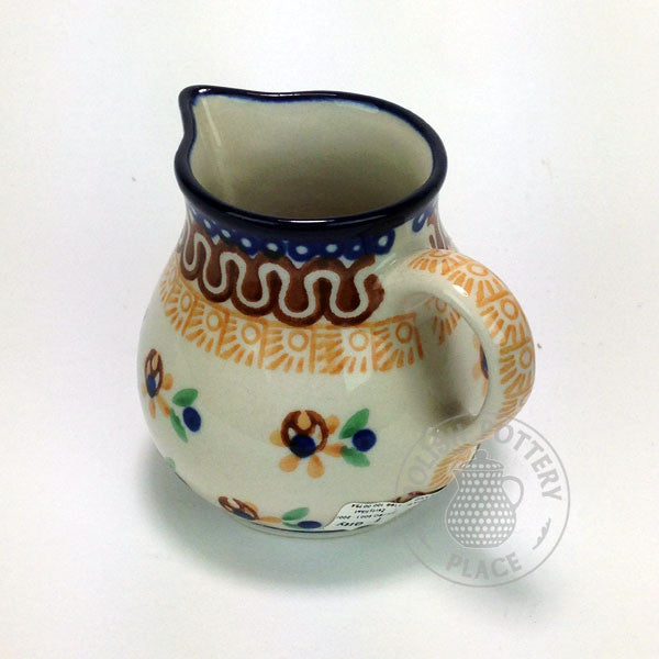 Small Creamer - Polish Pottery