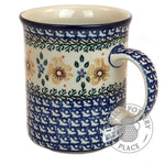 Large Traditional Mug - Polish Pottery