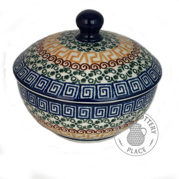 Covered Dish - Polish Pottery