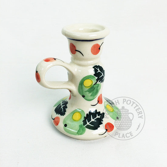 Small Candle Holder - Polish Pottery