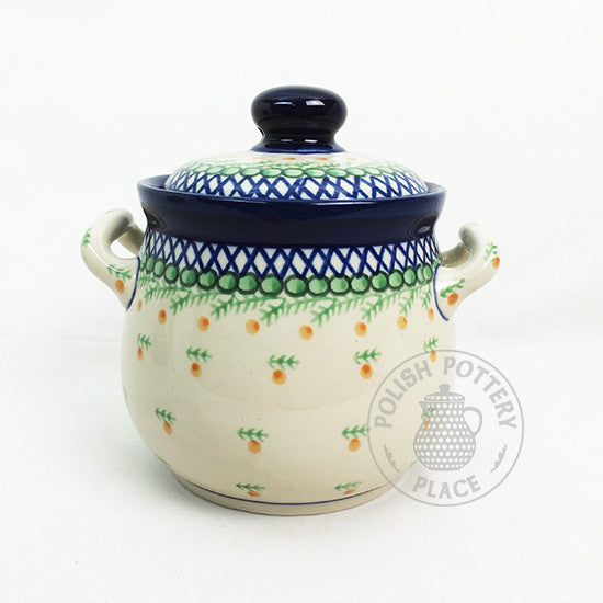 Medium Canister Jar - Polish Pottery