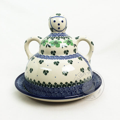 Medium Cheese Lady - Polish Pottery