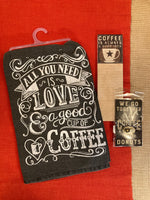 All You Need is Love and a Good Cup of Coffee Gift Set