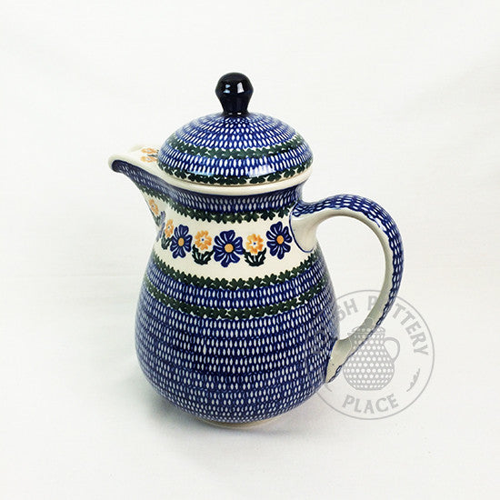 Coffee Pot - Large - Polish Pottery