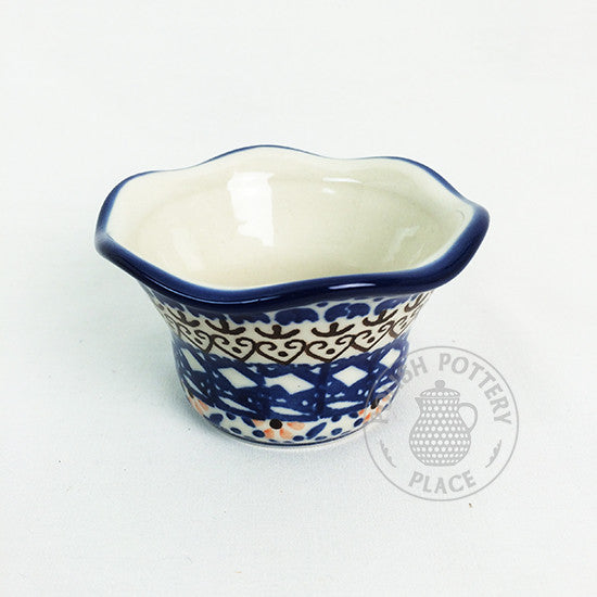 Fluted Tealight - Polish Pottery