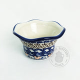 Fluted Tea Light - Polish Pottery