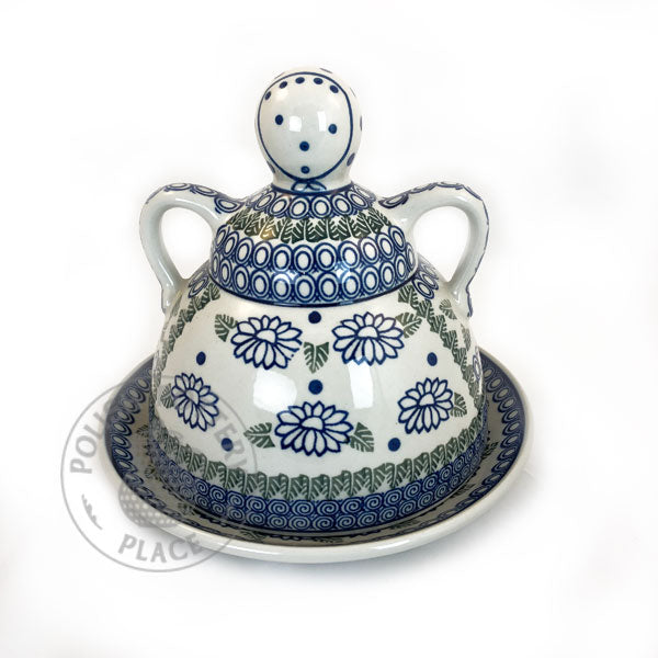 Large Cheese Lady - Polish Pottery