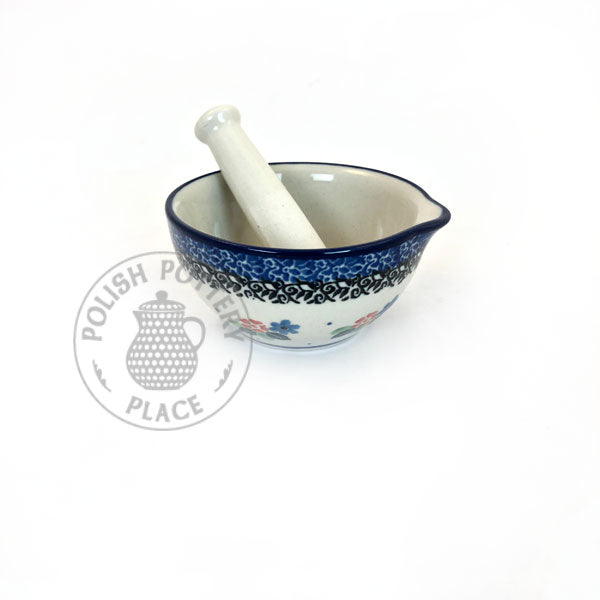 Mortar & Pestle Sets - Polish Pottery