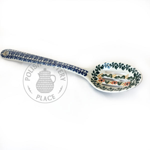 Slotted Spoon - Polish Pottery