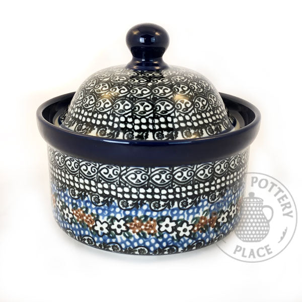 Short Canister - Polish Pottery
