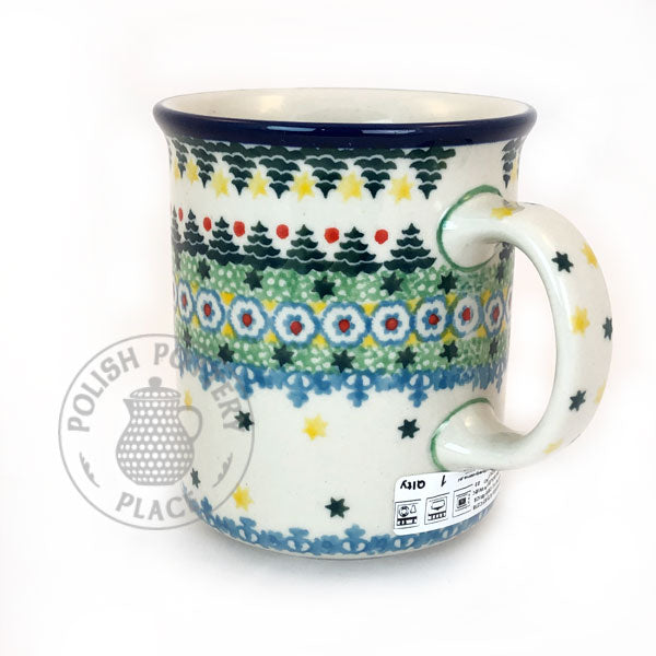Traditional Mug - Polish Pottery
