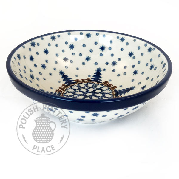 "Serving Bowl - 5.75"" - Polish Pottery"