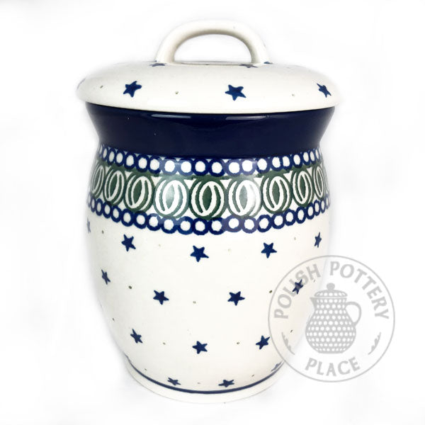 Container/Canister - Polish Pottery