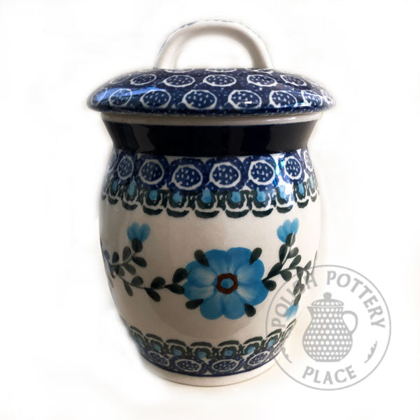 Small Bubble Canister - Polish Pottery