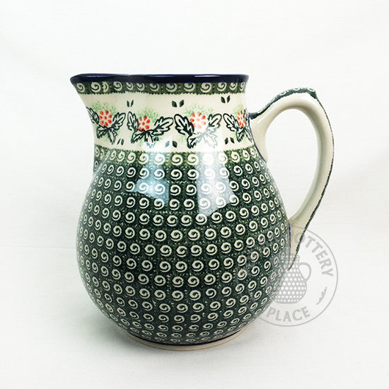 Extra Large Pitcher - Polish Pottery