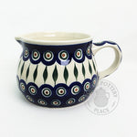 Medium Milk Pitcher - Polish Pottery
