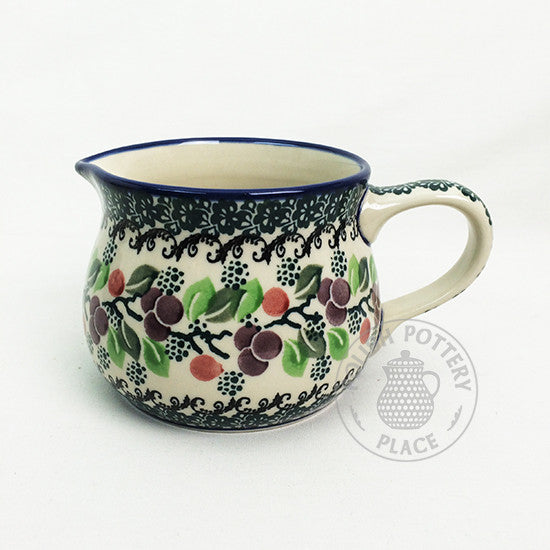 Small Milk Pitcher - Polish Pottery