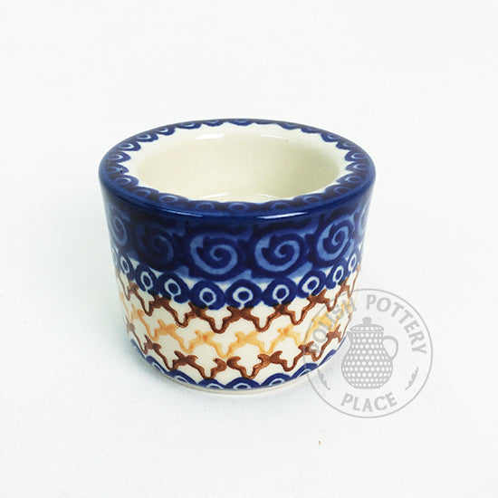 Plain Tealight - Polish Pottery