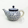 5.5 Cups Teapot - Polish Pottery