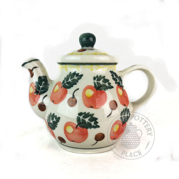 Teapot - 10 oz - Applies & Cherries