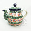 24 Ounce Teapot - Medium - Polish Pottery