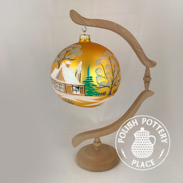 Large Polish Ball Ornament