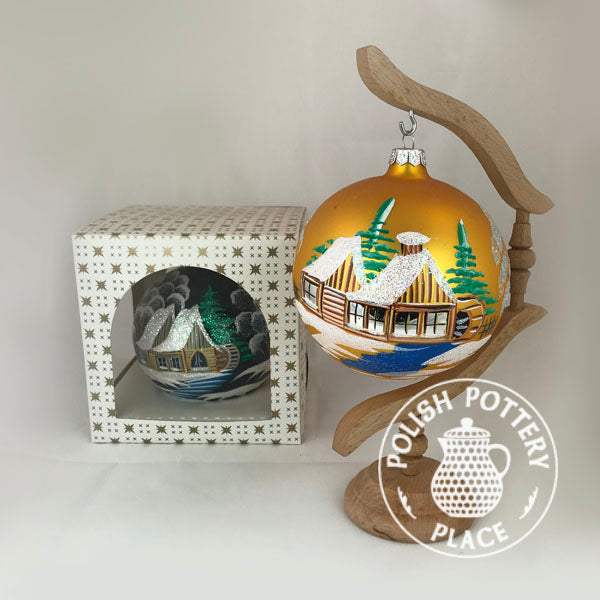 Medium Polish Ball Ornament