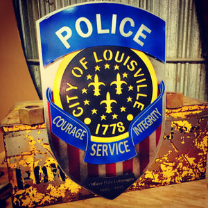 Louisville Police Dept Patch, Original LPD