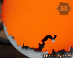 Clemson University Paw Orange on Brushed 3D Vintage CLOSE OUT