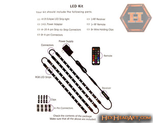 "LED ""Do It Yourself"" Light Package, w/ Remote Control"