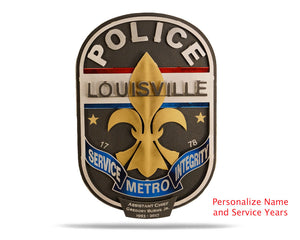 Louisville Metro Police Badge