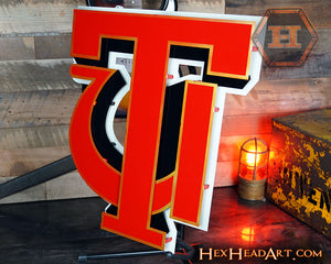 Tuskegee University 3D Metal Artwork