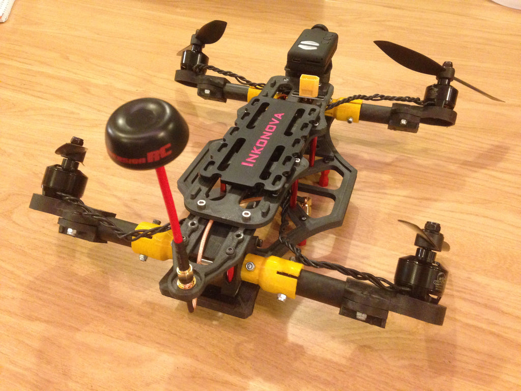 photograph about 3d Printable Drone referred to as Non-3DP sections package for TILT body (3D print the relax!)