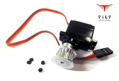 Tilt servo Rctimer with pulley for PRO and X8 - Clearance