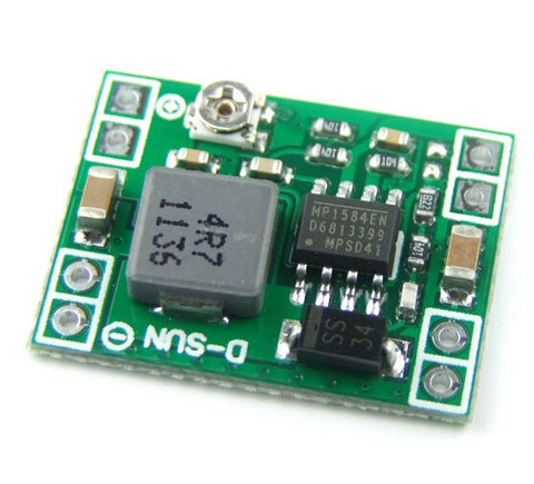 Mini 3A step-down switching regulator (adjustable) kit