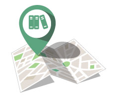 Retail insights pinpoint on a map