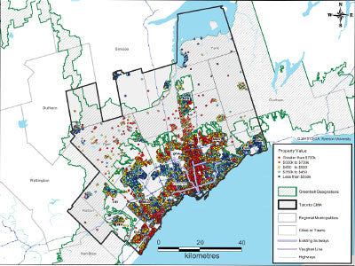Exploring Residential Property Prices in the Toronto Region