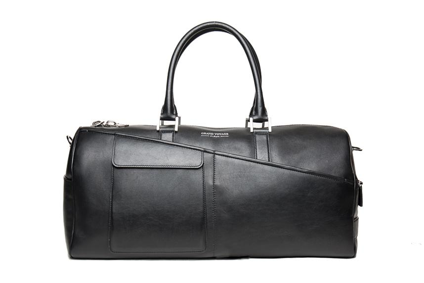 Gainsbourg Duffel- Black Leather