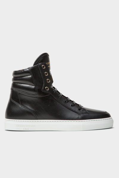 Belmondo High - Black Leather