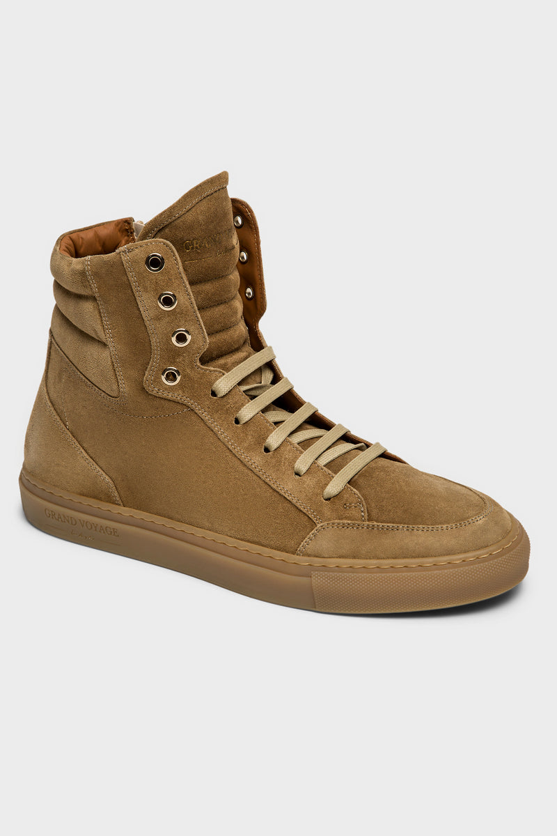 Belmondo High - Tan Suede