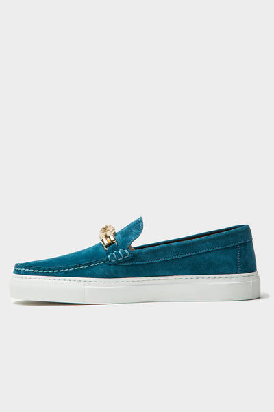 Bitton - Teal Suede